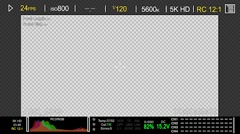 RED Camera Display Stock After Effects