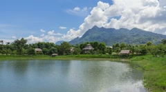 Park in Thailand Stock Footage