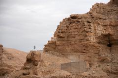 Stock Photo of Holy land desert christianity