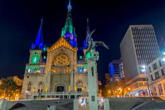 Stock Photo of Cathedral in Manizales, Colombia