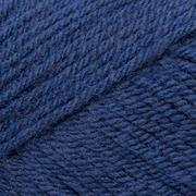 Close Up of Dark Blue Yarn in a Diagonal Pattern - stock photo