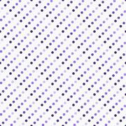 Purple Multicolored and White Polka Dot Abstract Design Tile Pattern Repeat B Stock Illustration