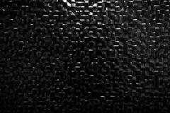 Black tile wall background reflecting light. Elegant pattern Stock Illustration