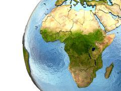 Africa on Earth Stock Illustration
