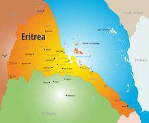 Eritrea - stock illustration