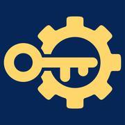 Key Options Icon - stock illustration
