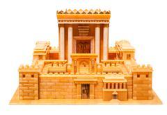 Herod's temple - stock photo