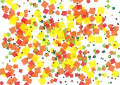 Stock Illustration of confetti