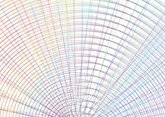 Concentric circles Stock Illustration