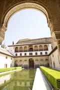 Palacio Nazaries - Alhambra - stock photo