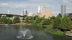 Downtown Tulsa, Oklahoma Stock Footage