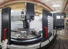 CNC milling machine - stock photo