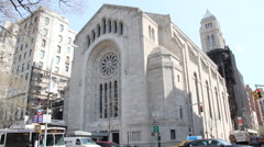 Temple Emanuel Stock Footage