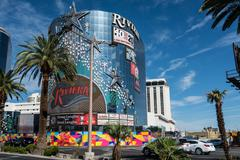 Riviera Hotel Las Vegas Strip - stock photo