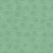 Green Square Abstract Geometric Design Tile Pattern Repeat Background Stock Illustration