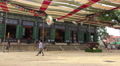 Courtyard At The Jogyesa Temple In Seoul South Korea Footage