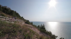Empire Bluffs  4 Stock Footage