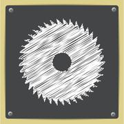 Circular Saw Stock Illustration