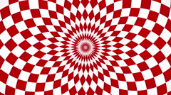 kaleidoscopic and hypnotic background - stock footage