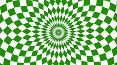 Kaleidoscopic and hypnotic background Stock Footage