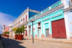 TRINIDAD, CUBA - SEPTEMBER 12, 2015:  Capital of Cienfuegos Province, is a city - stock photo