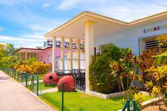 TRINIDAD, CUBA - SEPTEMBER 12, 2015:  Capital of Cienfuegos Province, is a city - stock photo