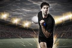 New Zealander rugby player - stock photo