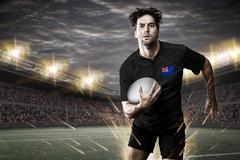 New Zealander rugby player Stock Photos