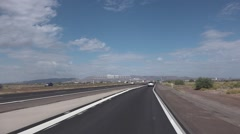 Driving in Phoenix Arizona   Stock Footage