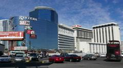 Riviera Hotel and Casino Las Vegas - stock footage