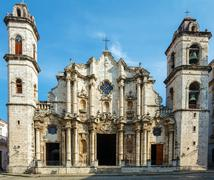 Cathedral of The Virgin Mary of the Immaculate Conception (1748-1777), Havana - stock photo