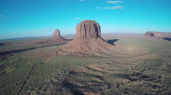 Monument Valley - AZ - Slowly Drifting Shot Stock Footage