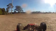 Remote Control Car POV  Stock Footage