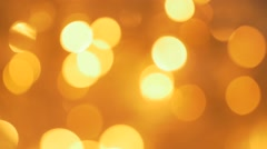 Glittering  sparkles in 1080p FullHD resolution Christmas close up footage - - stock footage