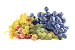 Bunches of ripe grapes Stock Photos