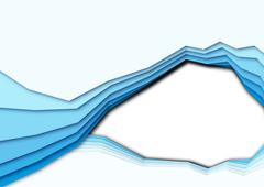 Colored curves Stock Illustration