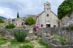 St. Nicholas Church, Old Bar, Montenegro Stock Photos