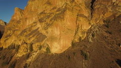 Aerial Oregon Smith Rock State Park Stock Footage