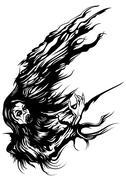 Mist Vampire - stock illustration