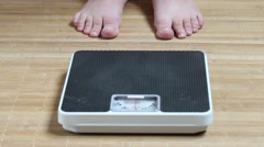 Weighing. - stock footage