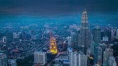 Kuala Lumpur - Malaysia Stock Footage