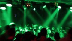 People having fun at the Disco - Disco Club 27 Stock Footage