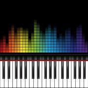 Piano template Piirros