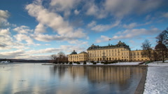 Drottningsholm Palace Stock Footage