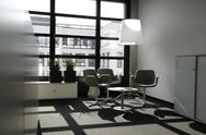 Stock Photo of Close up of modern office interior