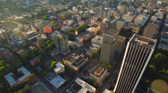 Aerial Oregon Portland Stock Footage