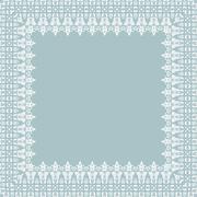 Stock Illustration of Floral Vector Fine Frame
