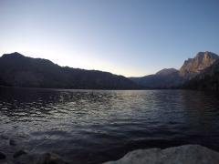 Silver Lake time lapse Stock Footage
