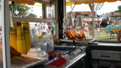 Corndogs, County Fair Stock Footage