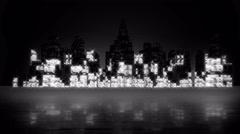 Equalizer City 4K Stock Footage